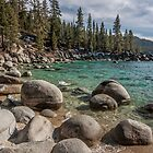 At Secret Cove Lake Tahoe by Richard Thelen