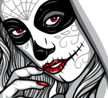 DAY OF DEAD GIRL Sticker