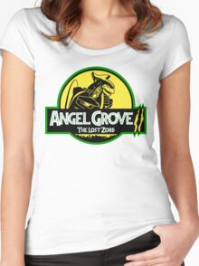 Angel Grove II: The Lost Zord Women's Fitted Scoop T-Shirt