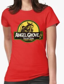 Angel Grove II: The Lost Zord Womens Fitted T-Shirt