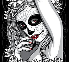 DAY OF DEAD GIRL by SmittyArt
