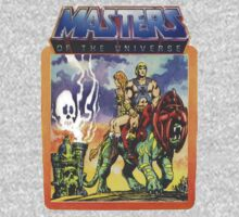 He-Man Masters of the Universe Battlecat and Teela One Piece - Long Sleeve