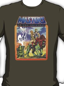 He-Man Masters of the Universe Battlecat and Teela T-Shirt