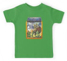 He-Man Masters of the Universe Battlecat and Teela Kids Tee