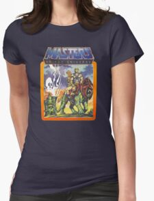 He-Man Masters of the Universe Battlecat and Teela Womens Fitted T-Shirt