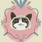 Grumpycat by MollyArt