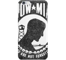 POW*MIA iPhone Case/Skin