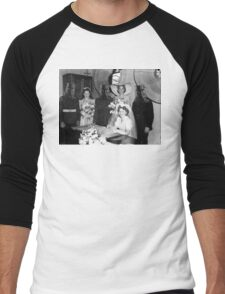 The wedding of Ned and Betty Kelly Men's Baseball ¾ T-Shirt