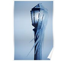Windblown Icicles Poster