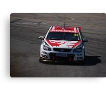 2013 Clipsal 500 Day 3 V8 Supercars - Courtney Canvas Print