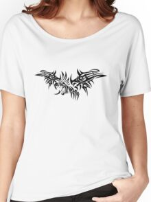 Tribal dragon Women's Relaxed Fit T-Shirt