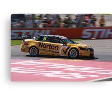 2013 Clipsal 500 Day 4 V8 Supercars - Caruso Canvas Print