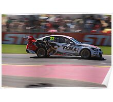 2013 Clipsal 500 Day 4 V8 Supercars - Courtney Poster