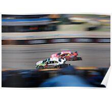 2013 Clipsal 500 Day 4 V8 Supercars - McLoughlin & Reid Poster