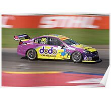 2013 Clipsal 500 Day 4 V8 Supercars - Fiore Poster