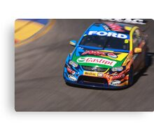 2013 Clipsal 500 Day 4 V8 Supercars - Winterbottom Canvas Print