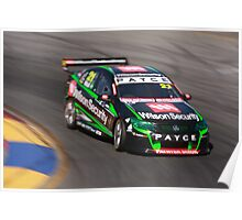 2013 Clipsal 500 Day 4 V8 Supercars - Wall Poster
