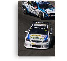2013 Clipsal 500 Day 4 V8 Supercars - Webb & Blanchard Canvas Print