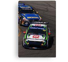 2013 Clipsal 500 Day 4 V8 Supercars - Reid & Holdsworth Canvas Print