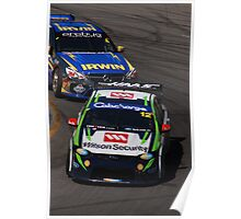 2013 Clipsal 500 Day 4 V8 Supercars - Reid & Holdsworth Poster
