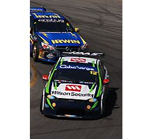2013 Clipsal 500 Day 4 V8 Supercars - Reid & Holdsworth Photographic Print