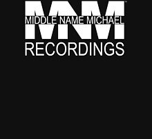 Middle Name Michael Recordings™ (Logo) [White] Zipped Hoodie