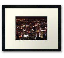""""""" I Love New York """" Framed Print"""