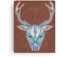 blue elk totem spirit animal. Canvas Print