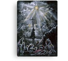 """BEHOLD MY SON """"Easter Passion"""" Canvas Print"""