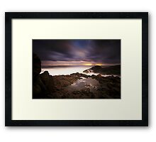 Hastings Point Sunrise Framed Print