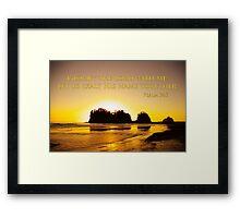 exalt the Lord Framed Print