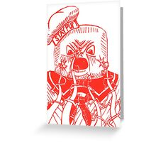 Stay Puft - Ghostbusters Greeting Card