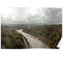 The Avon river, Bristol Poster