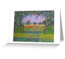 Canopy Florida Landscape  Greeting Card