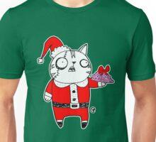 Zombie  Santa  Cat Unisex T-Shirt