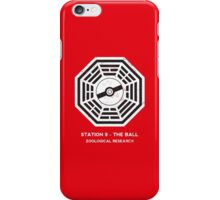 Station 9 - The Ball iPhone Case/Skin
