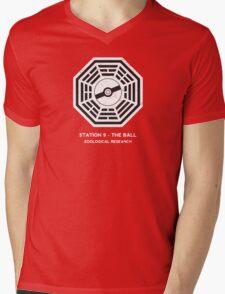Station 9 - The Ball Mens V-Neck T-Shirt