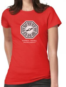 Station 9 - The Ball Womens Fitted T-Shirt
