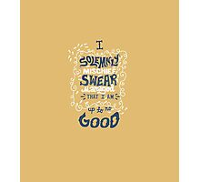 Solemnly Swear Photographic Print