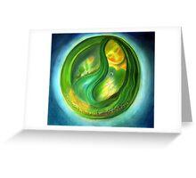 mother earth III Greeting Card