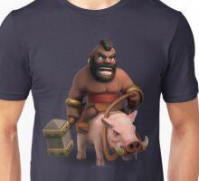 Hog Rider Art Unisex T-Shirt
