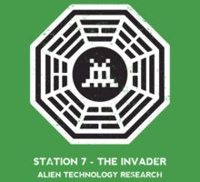 Station 7 - The Invader One Piece - Short Sleeve