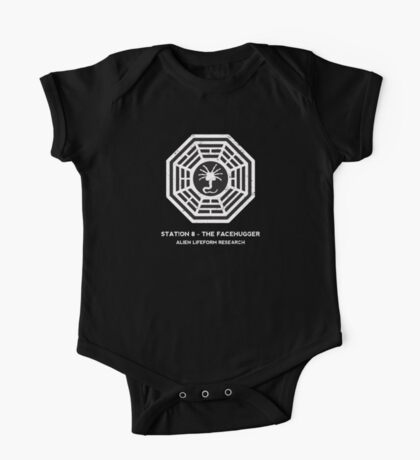 Station 8 - The Facehugger One Piece - Short Sleeve