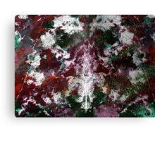 RAINBOW CAMOUFLAGE Canvas Print