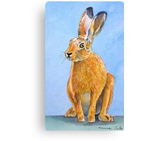 Mad March Hare Canvas Print