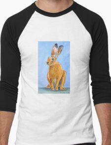 Mad March Hare Men's Baseball ¾ T-Shirt
