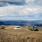 Buses of Landmannalaugar by Silken Photography
