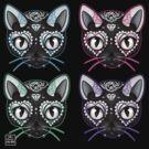 Pop Art Kitty by Miss Cherry  Martini