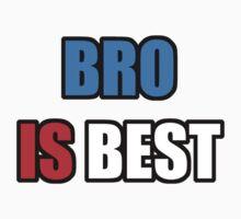 BRO IS BEST Kids Tee