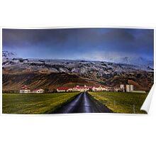 Eyjafjallajökull Volcano  Iceland Poster